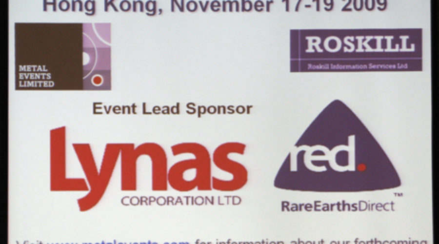 Rare Earths at Center Stage: Happy in Hong Kong